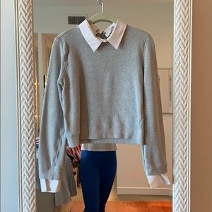 Alice and Olivia Sweater Blouse Combo